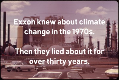 exxon knew about climate change