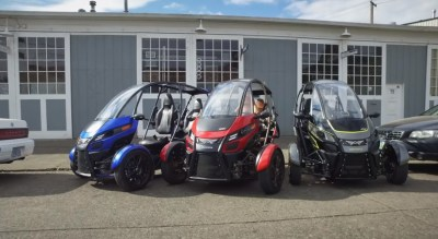arcimoto parking
