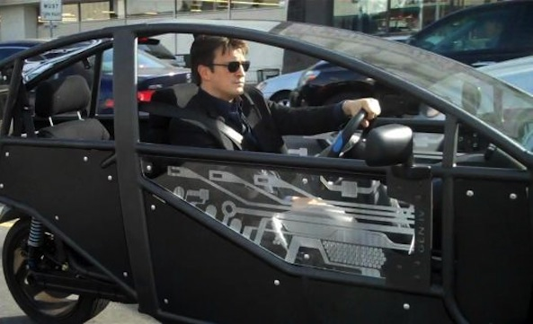 "Nathan Fillion gets his spaceship, as Arcimoto's revolutionary EV ""Fun Utility Vehicle"" wraps up a successful IPO"