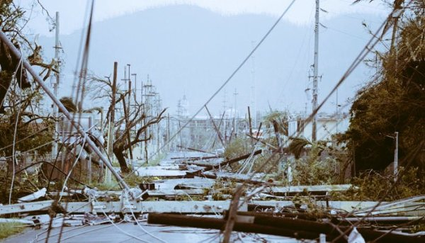 puerto ricor smashed by hurricane Maria