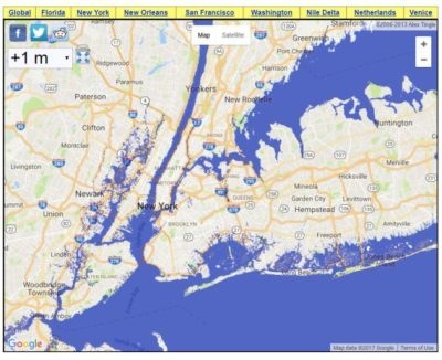 NYC sea level rise