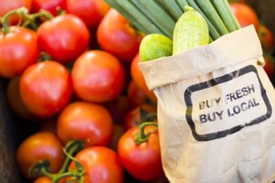fresh local produce vs pesticides