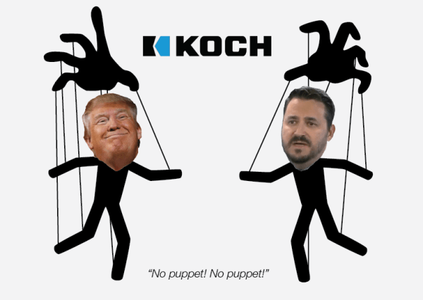 Drain the swamp: Koch Bros cronies flood the Trump admin