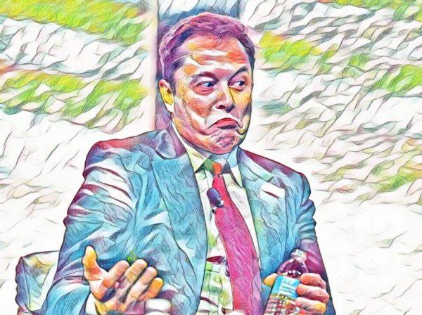 Elon Musk Tesla shrug