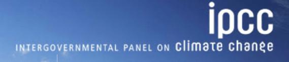 IPCC logo climate change