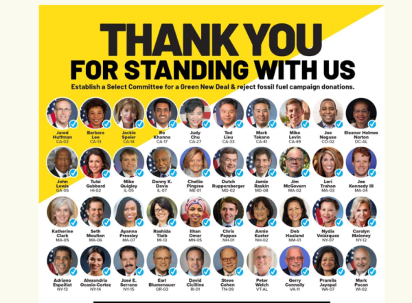 40 members of congress now back Green New Deal