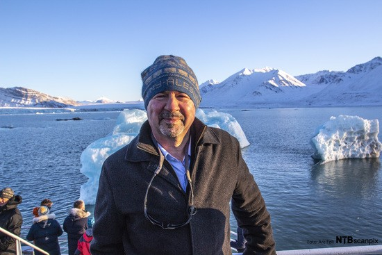 Dr Michael Mann sees the impact of climate change in the arctic