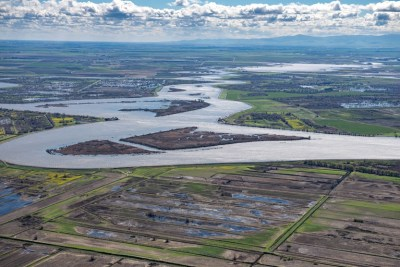 Sacramento Delta, site of the forthcoming tunnel