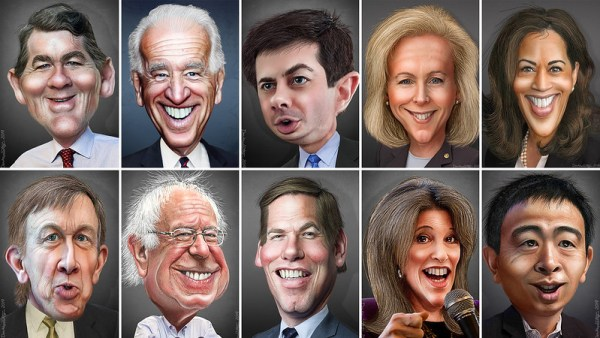 Democratic candidates for president, election 2020