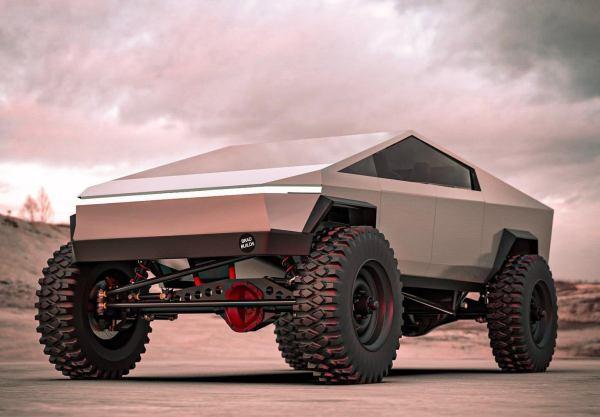 Mad Max meets Mad Musk - Tesla concept art