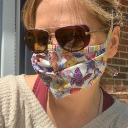 Chelsea Henderson in mask EcoRight climate change news of the week for the week of April 17 from RepublicEN