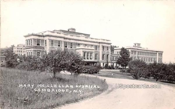 Mary McClellan Hospital, Cambridge, New York,