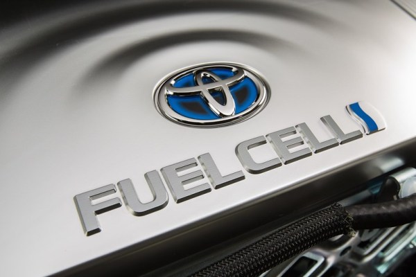 Hydrogen Fuel Cell vehicle from Toyota UK, 2014