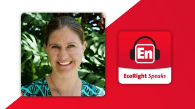 Ecoright speaks podcast - Martha Newall-Kinsman, who leads work for Ceres with the Florida Congressional delegation on climate change and clean energy policy.