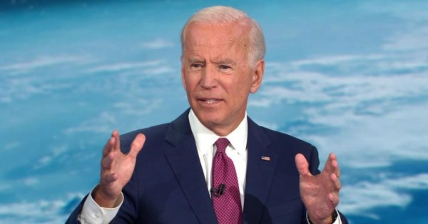 Former Vice President Joe Biden, a 2020 Democratic presidential candidate, speaks during a CNN climate crisis town hall on Wednesday, September 4, 2019. (Photo: CNN/Screengrab)