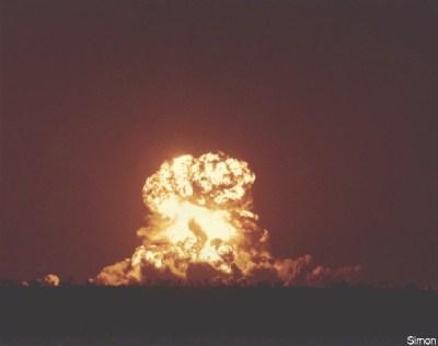 Nuclear Test Simon.