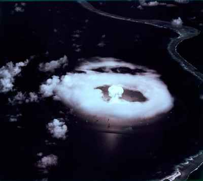 'A-Day' marked the first of 23 atomic bomb explosions at Bikini. Department of Energy