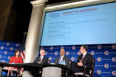 U.S. Chamber of Commerce panel. Photo by Maryland GovPics/Flickr