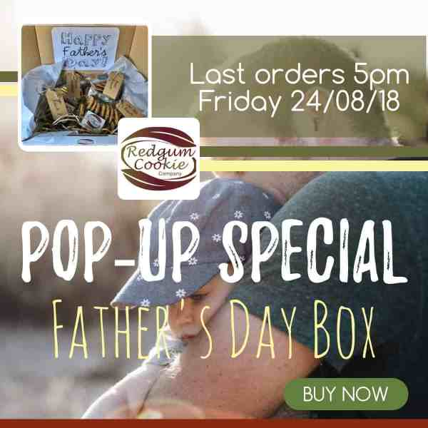 Redgum Cookies - Father's Day Pop-Up Special