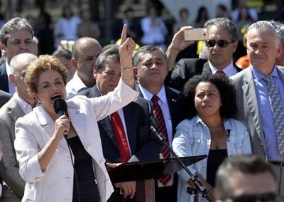 """César Charlone,""""#Dilma nunca dejó de combatir como una guerrera"""""""
