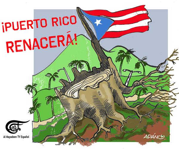 Puerto Rico sufre mientras lucha contra el capitalismo del desastre. Amy Goodman, Denis Moynihan