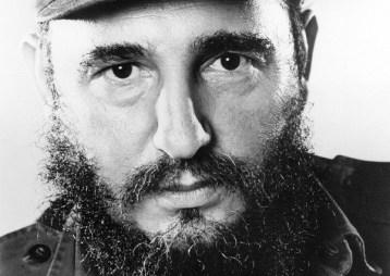 Cuban rebel leader Fidel Castro (c. 1960)