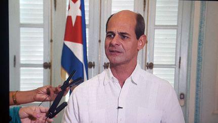 Rogelio Sierra, viceministro de Relaciones Exteriores de Cuba, Nadie puede doblegar a Cuba
