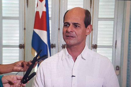 Rogelio Sierra, viceministro de relaciones internacionales de Cuba