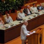 José Ramón Machado Ventura, Segundo Secretario del Comité Central del Partido Comunista de Cuba, en la clausura del XXIV Encuentro del Foro de Sao Paulo