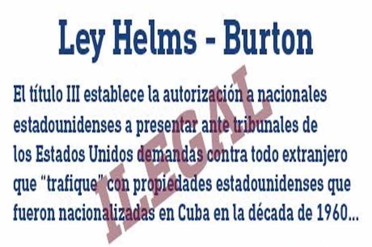 Cuatro claves para entender la Ley Helms- Burton y su Artículo III