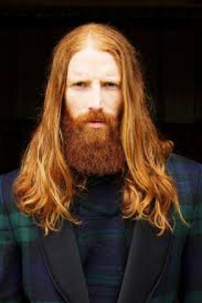 long red hair beard