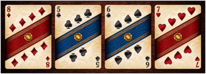 Rome Numbered Cards