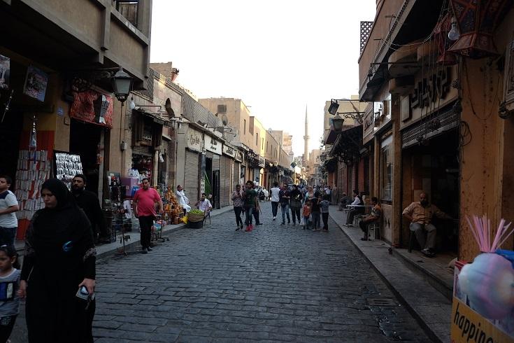 muizz street always crowded