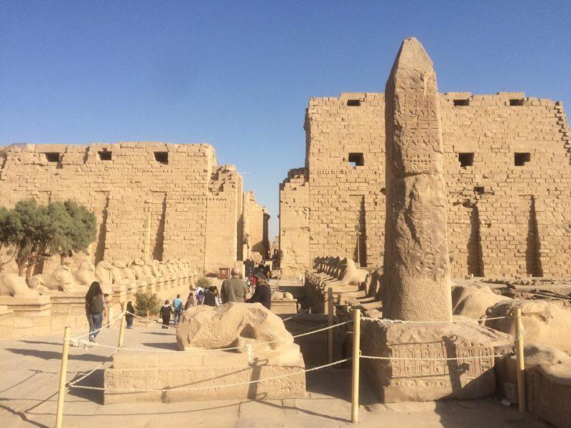 View of Karnak Temple