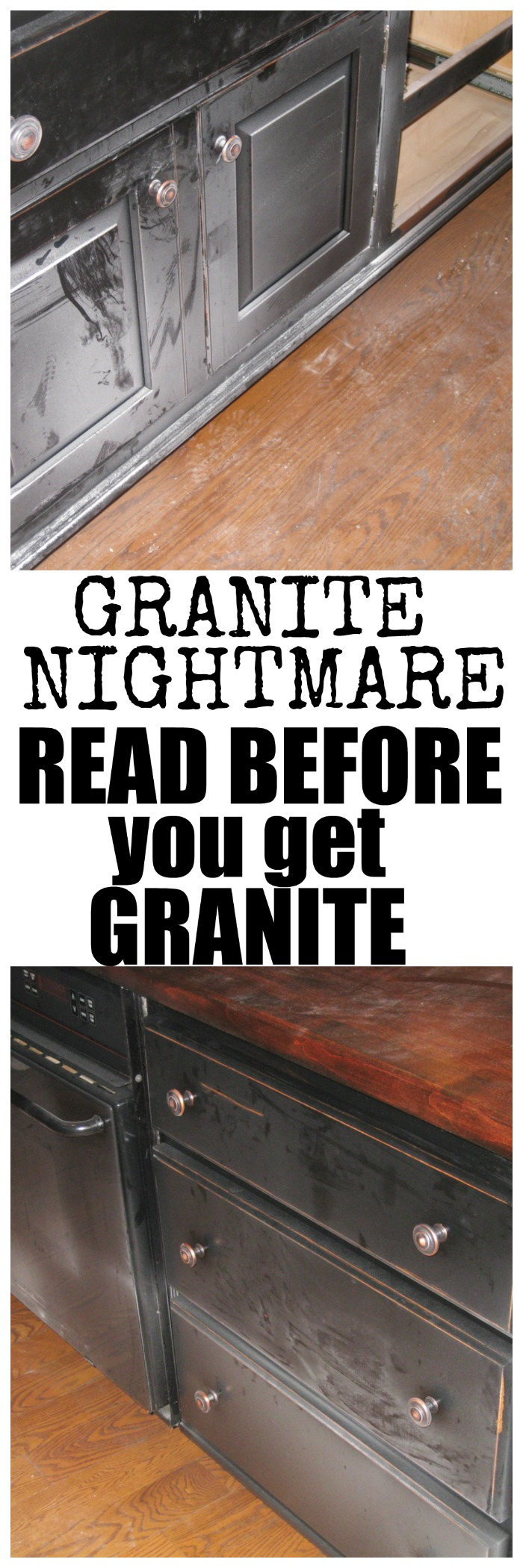 Ordinaire If You Plan On Getting Granite In Your Home You Need To Read What This  Family