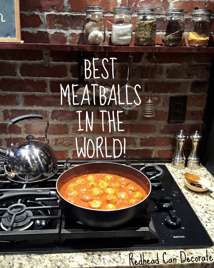 Easy and tasty chicken meatball recipe.