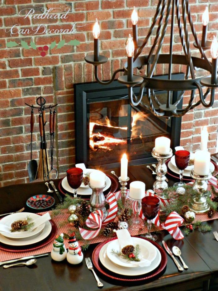 Affordable Christmas Table
