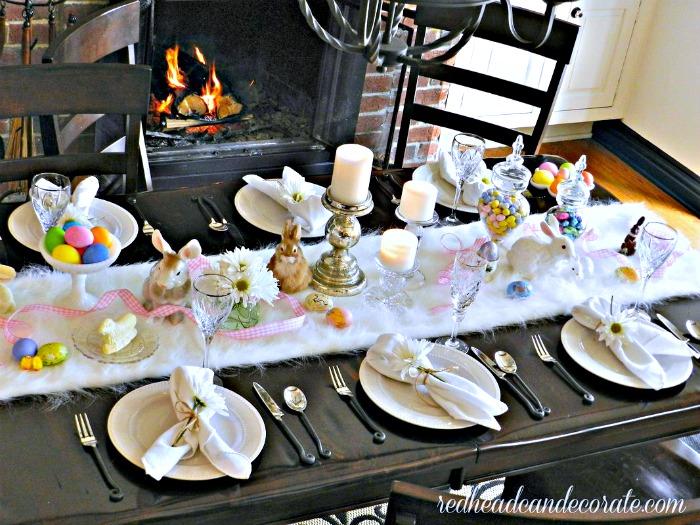 Easter Brunch Table Ideas