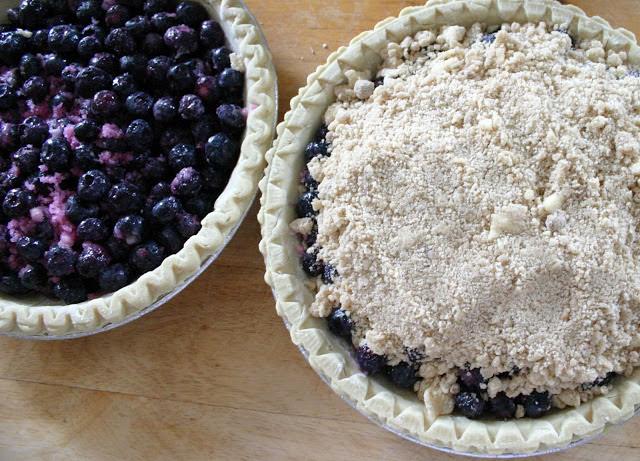 blue berry pie