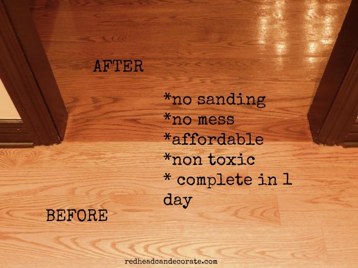 refinishing sandless floor refinishing