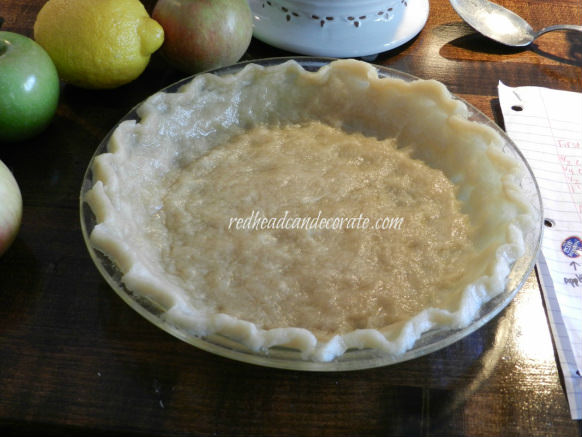 No Roll No Mess 10 Minute Pie Crust by Redhead Can Decorate
