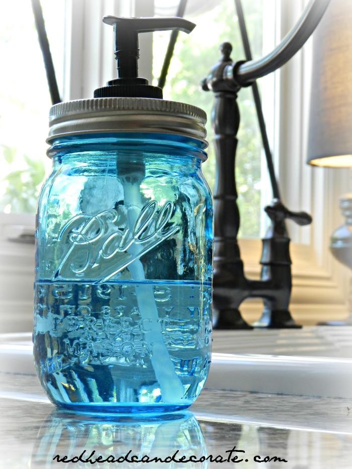 Ball Jar Hand Soap Dispenser