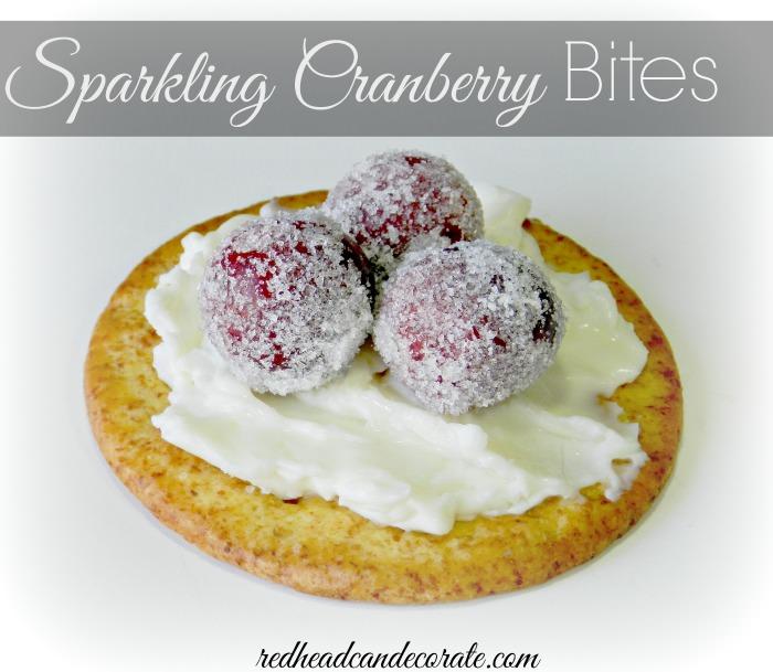 Sparkling Cranberry Bites