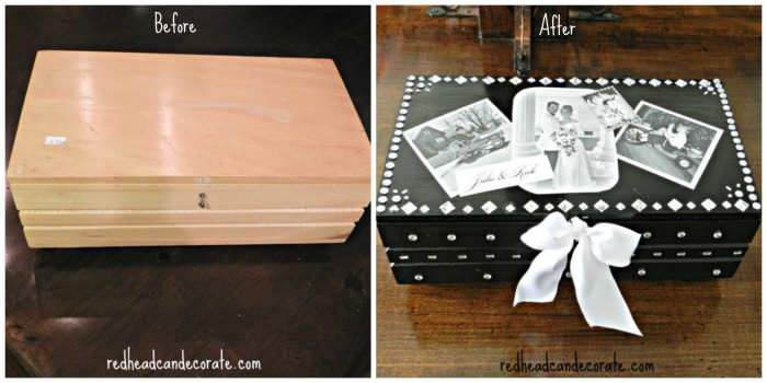 Keepsake Box Before & After