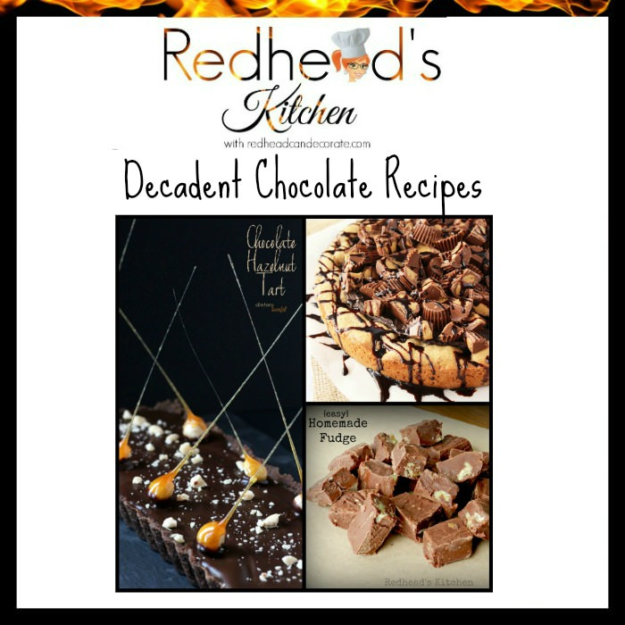 Decadent Chocolate Recipes