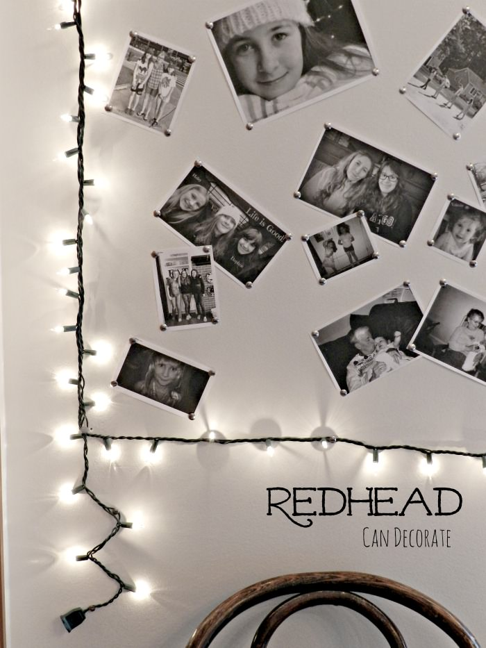 DIY PHOTO LIGHT FRAME