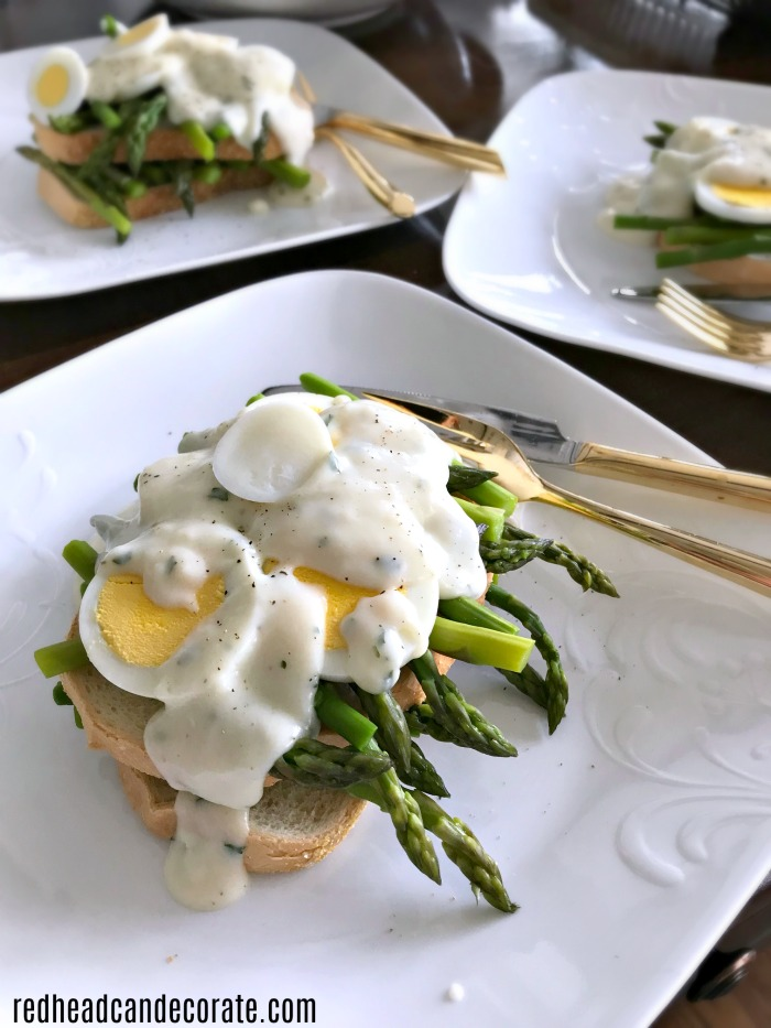 Have you ever tried Creamed of Asparagus on Toast? If not, you are in for a delicious recipe full of nutty, savory, good for you comfort food!