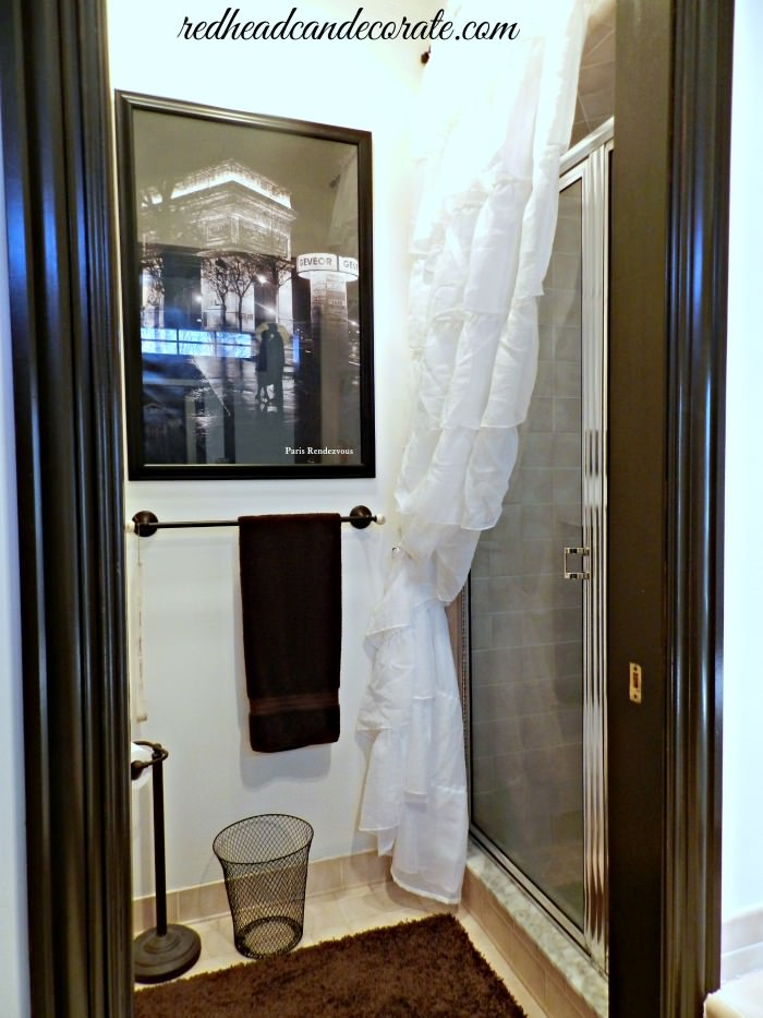 Cover Your Glass Shower Door
