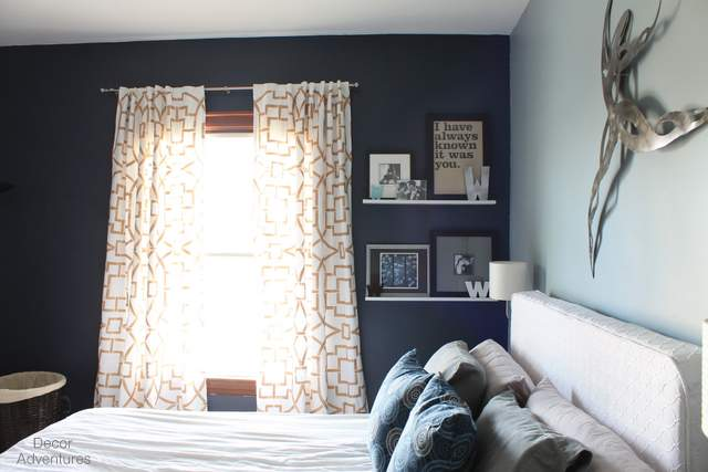 decorating with blue by decor adventures redhead can. Black Bedroom Furniture Sets. Home Design Ideas