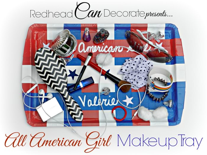 DIY Duct Tape Makeup Tray